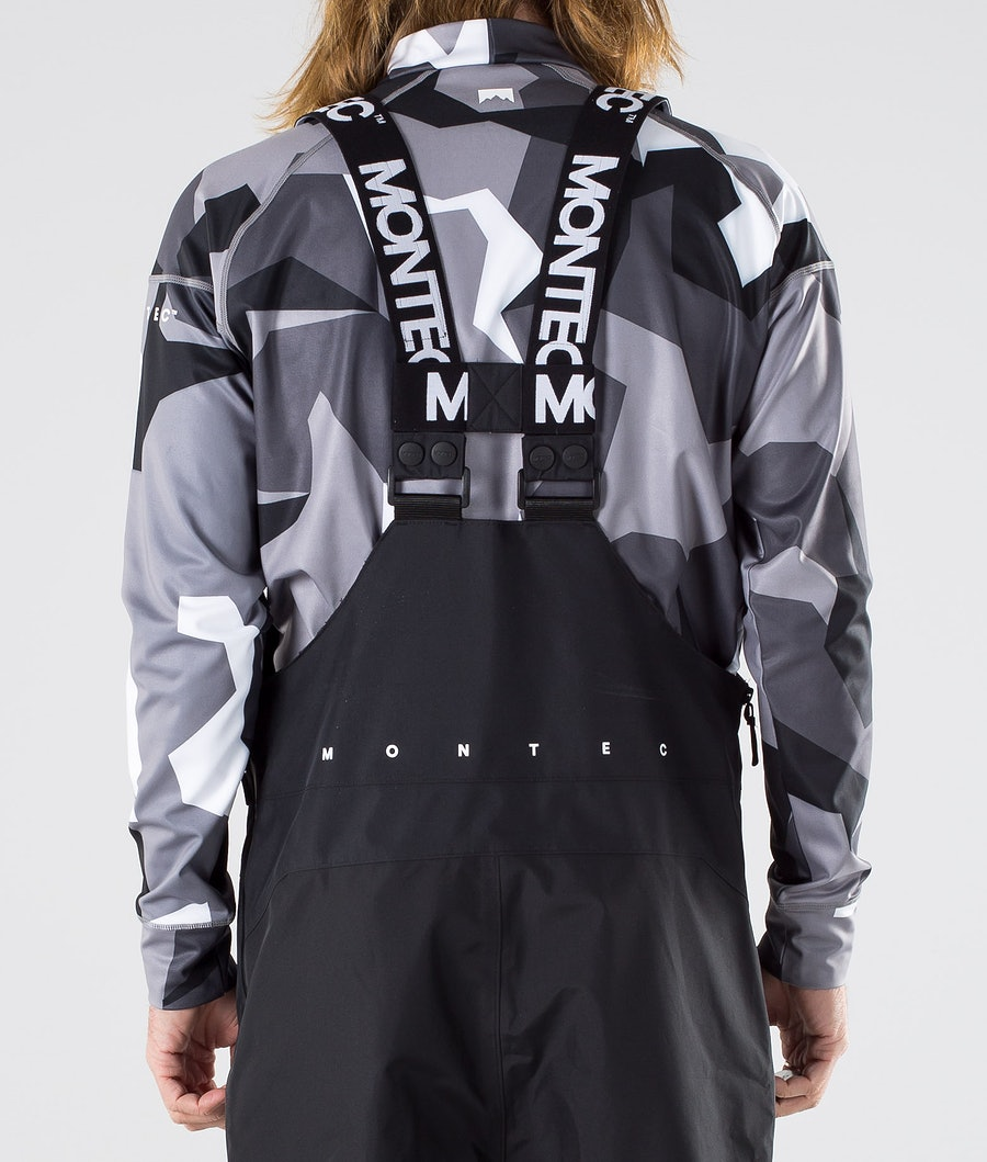 Montec Fenix Pantaloni Snowboard Black