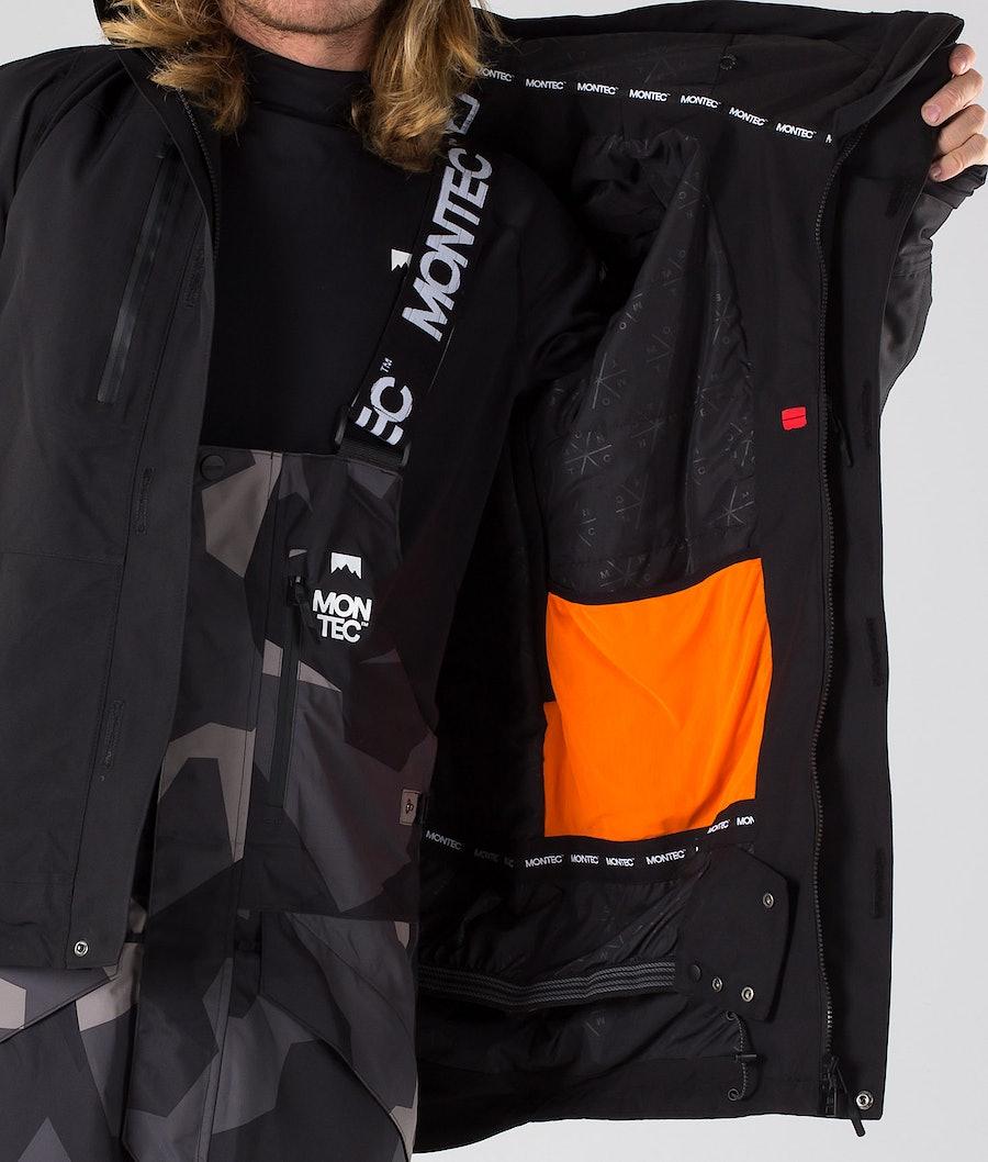 Montec Fawk Snowboard Jacket Black