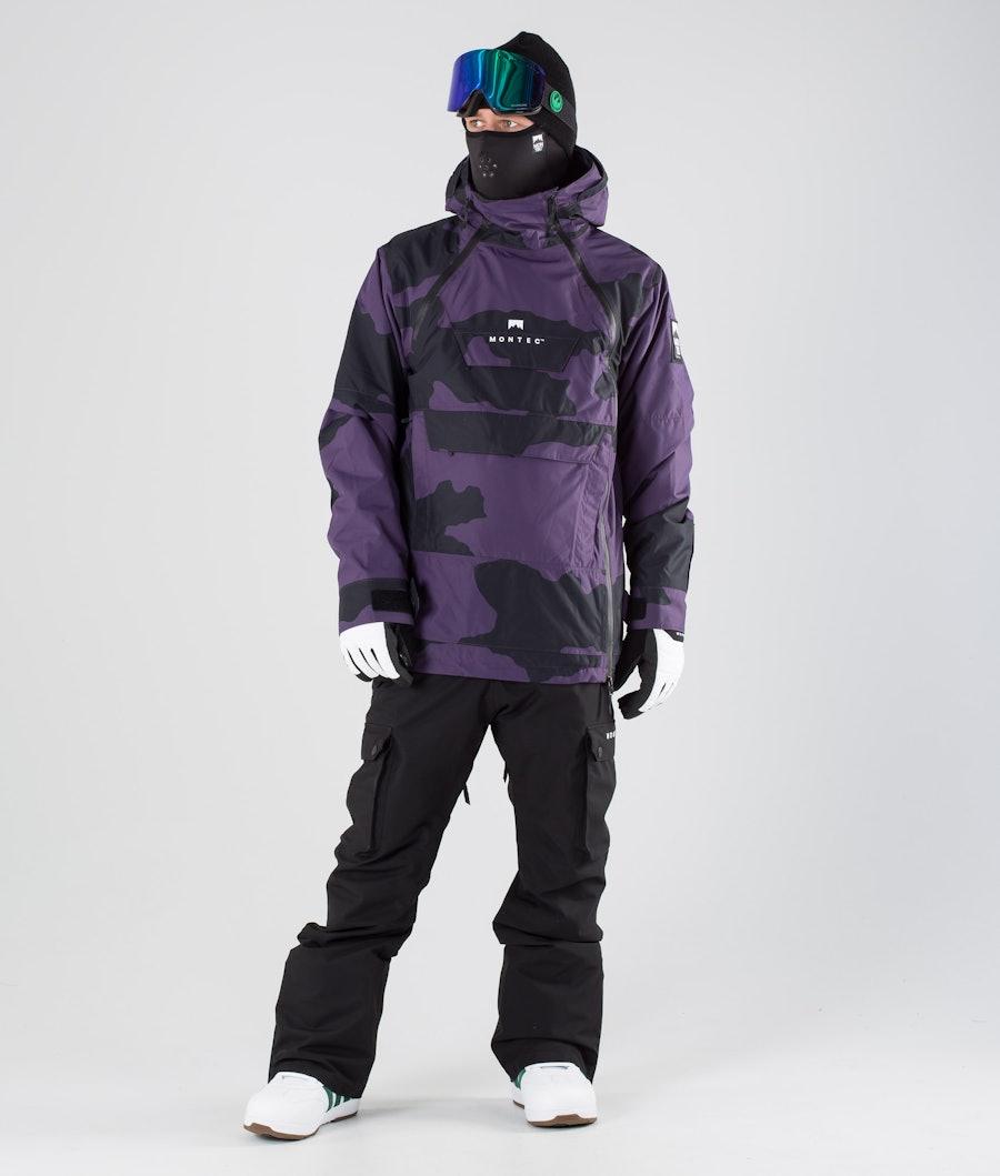 Montec Doom Snowboardjacka Grape Camo