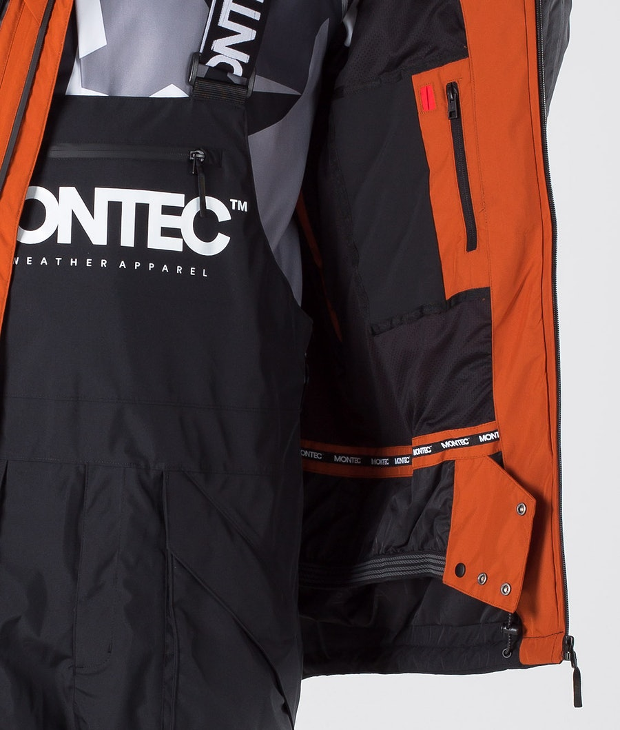 Montec Fenix Snowboard Jacket Clay/Black