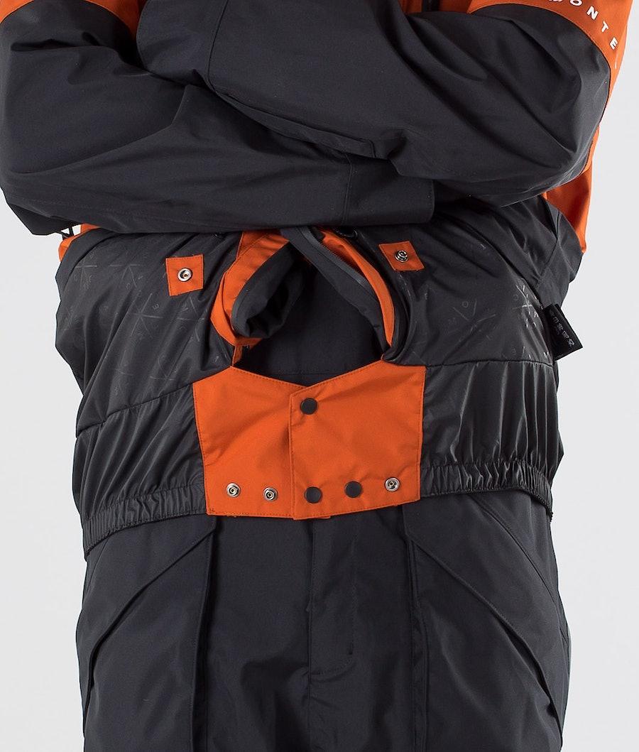 Montec Fenix Giacca Snowboard Clay/Black