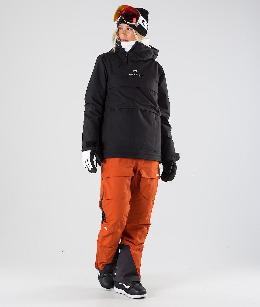 Montec Dune W Women's Snowboard Jacket Black