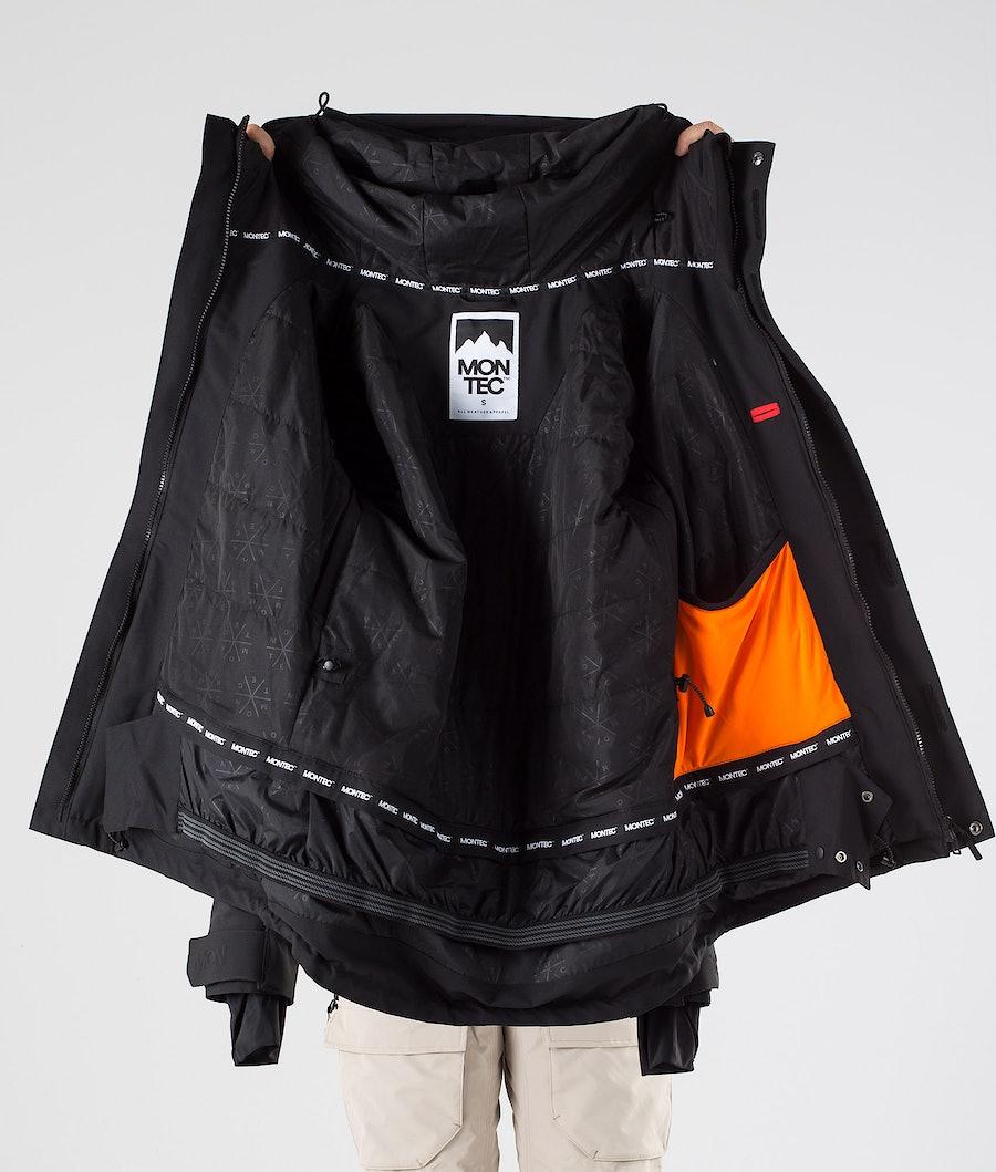 Montec Fawk W Women's Snowboard Jacket Black