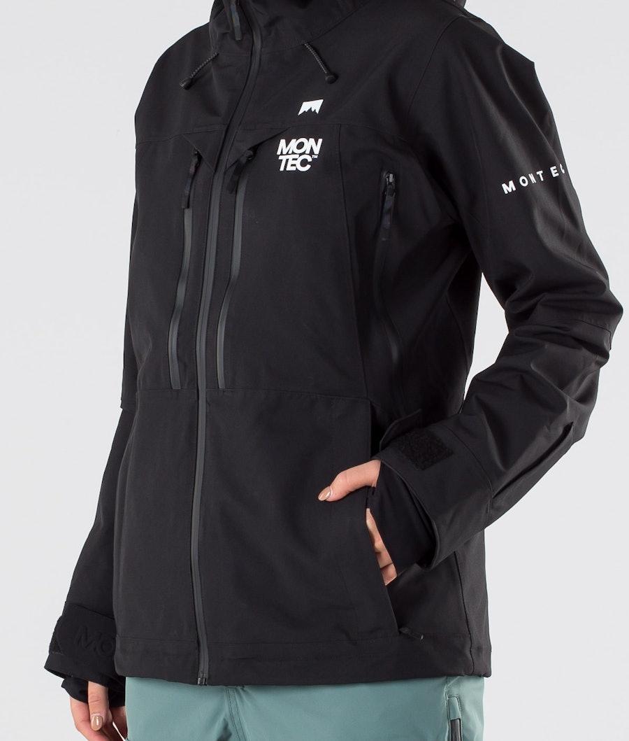 Montec Moss Women's Snowboard Jacket Black
