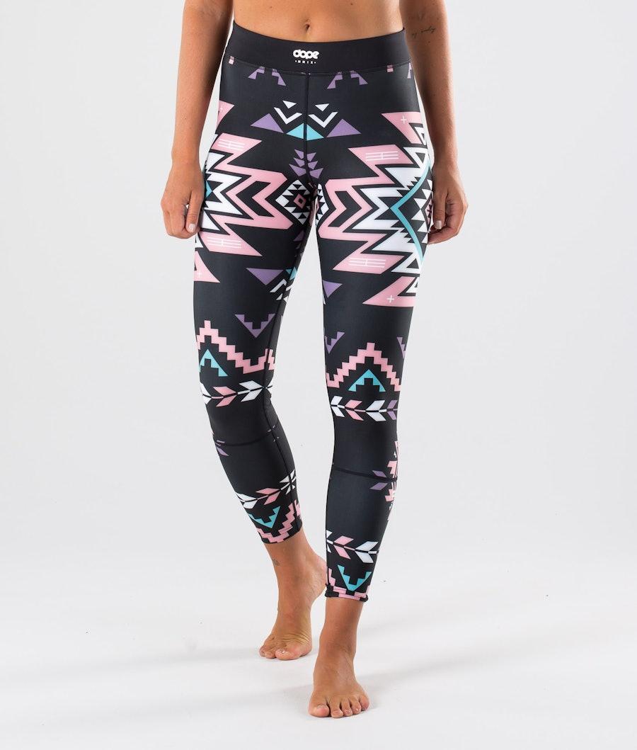 Dope Snuggle OG W Pantaloni Termici Inka Pink