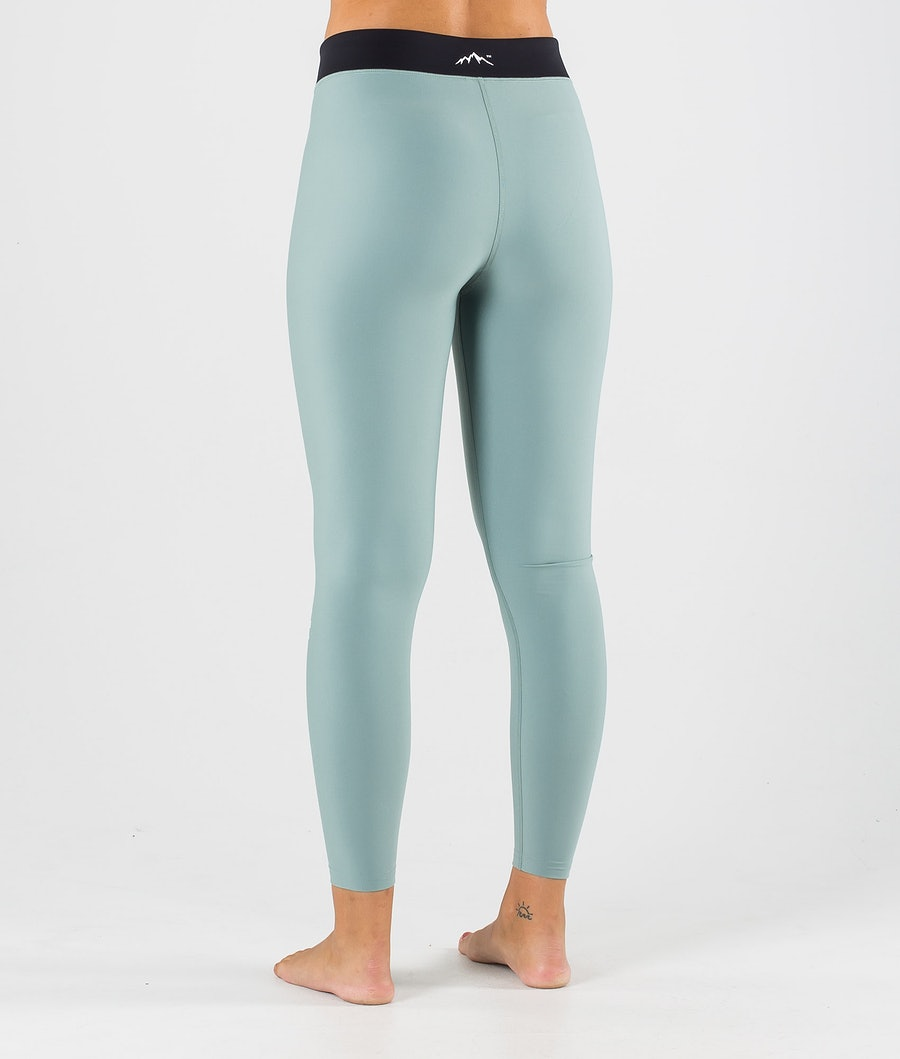 Dope Snuggle 2X-UP W Women's Base Layer Pant Faded Green