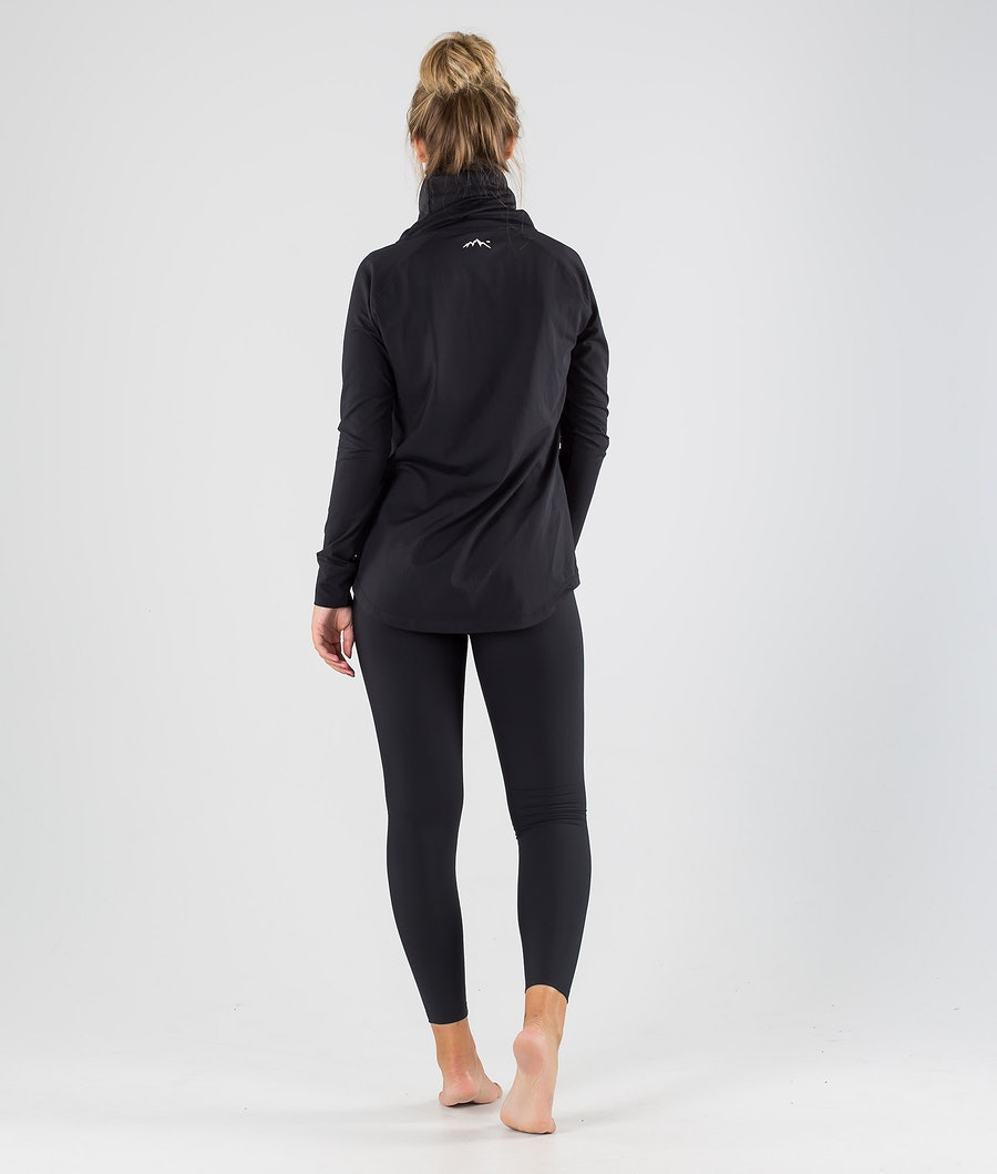 Dope Snuggle 2X-UP W Women's Base Layer Top Black