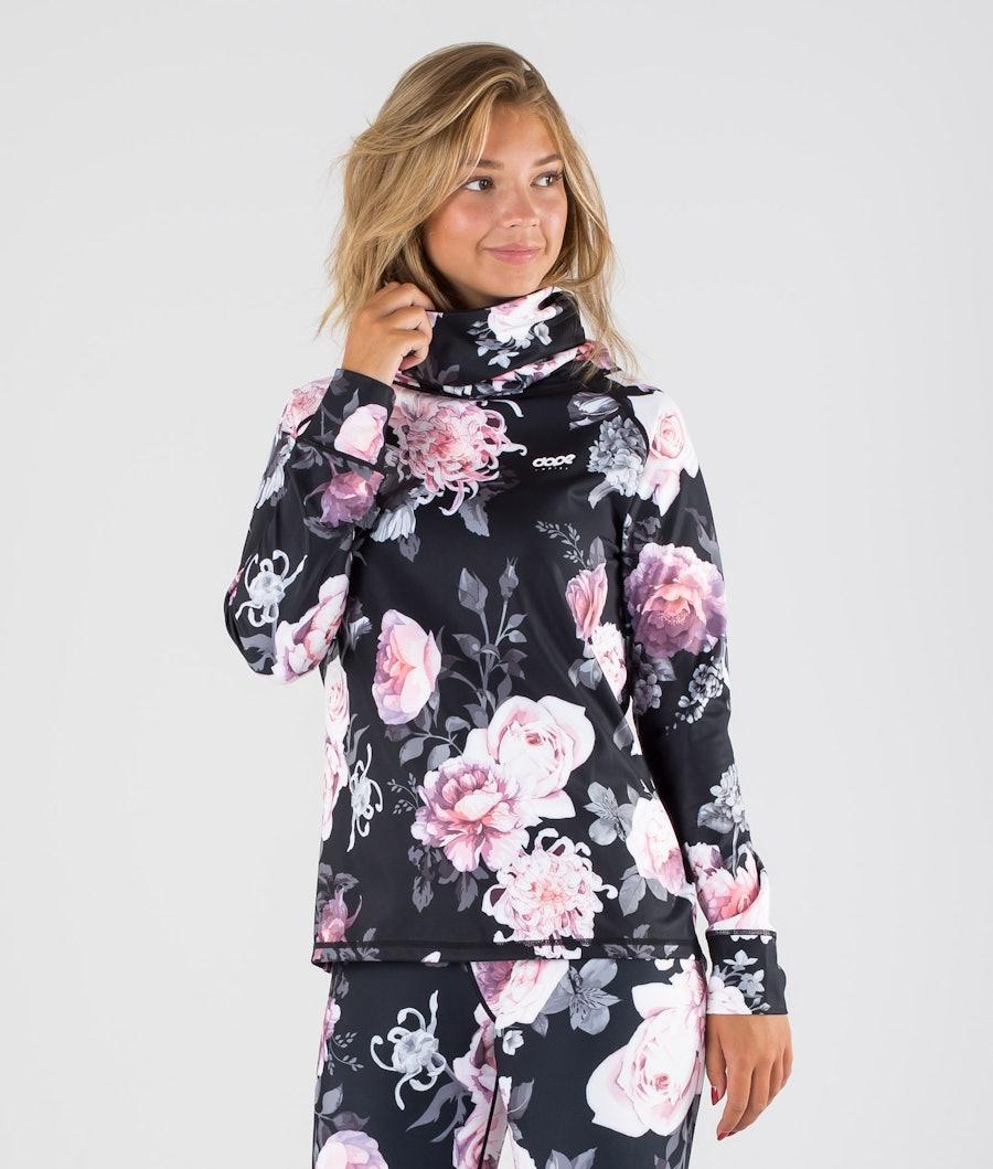 Snuggle OG W Base Layer Top Women Pink Flower