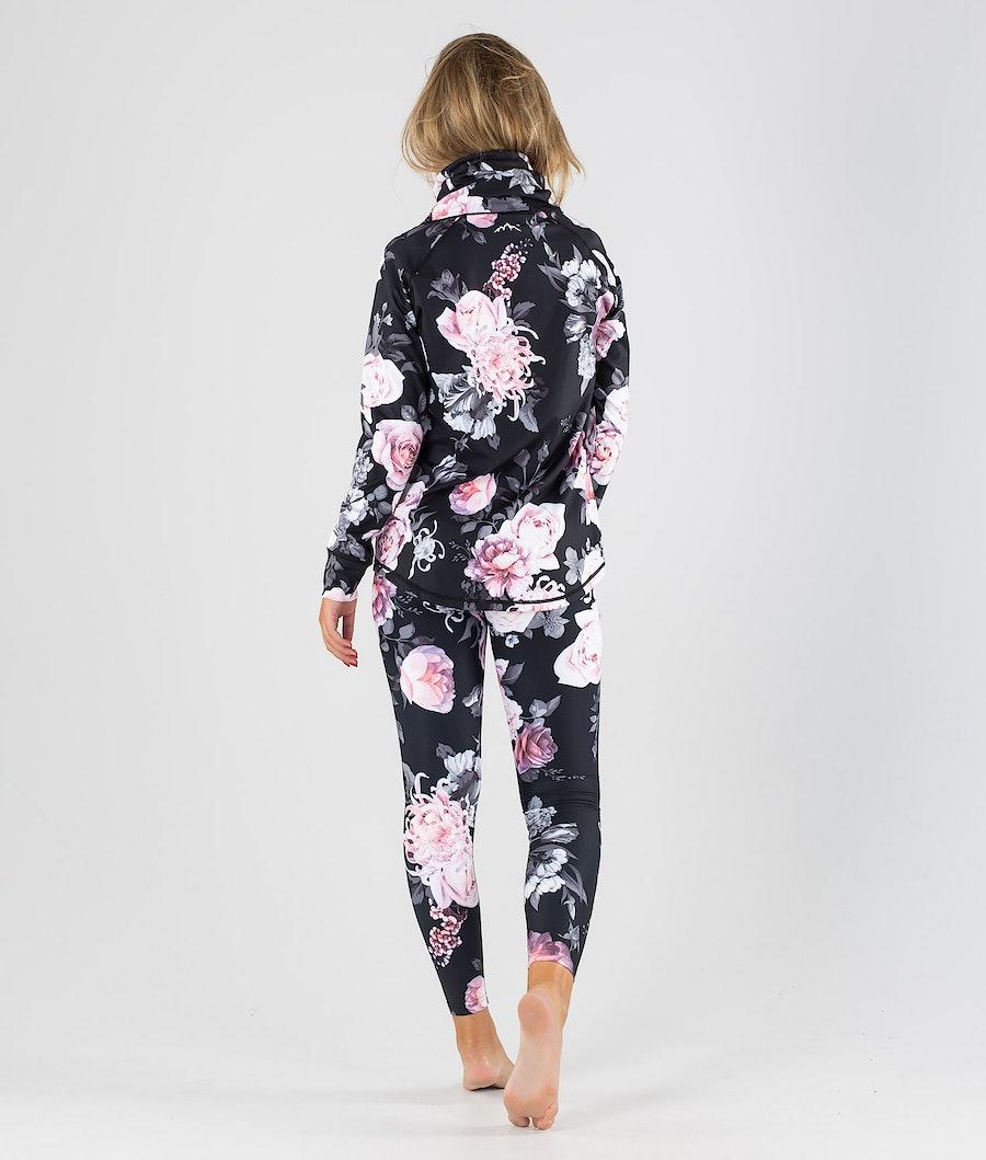 Dope Snuggle OG W Maglia Termica Donna Pink Flower