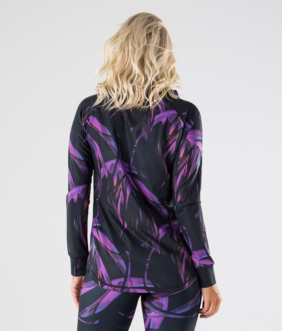 Dope Snuggle OG W Women's Base Layer Top Purple Folige