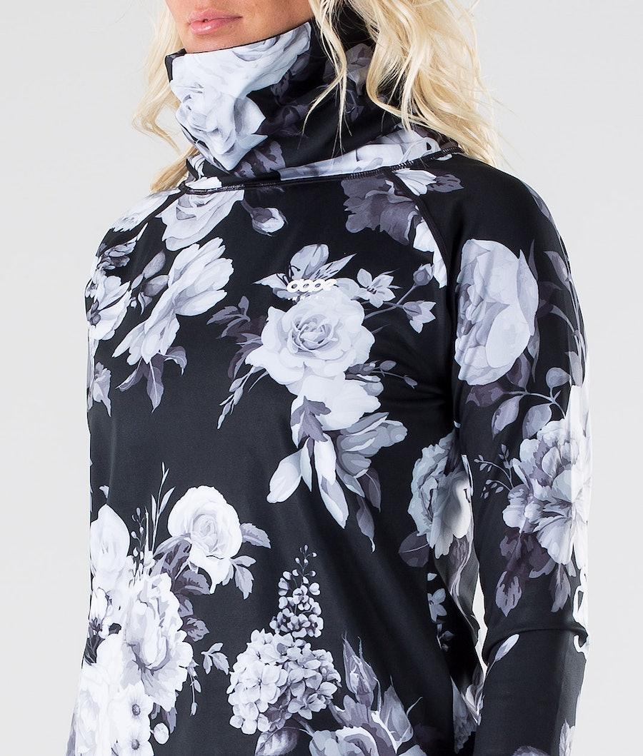 Dope Snuggle OG W Maglia Termica Donna Black Flower