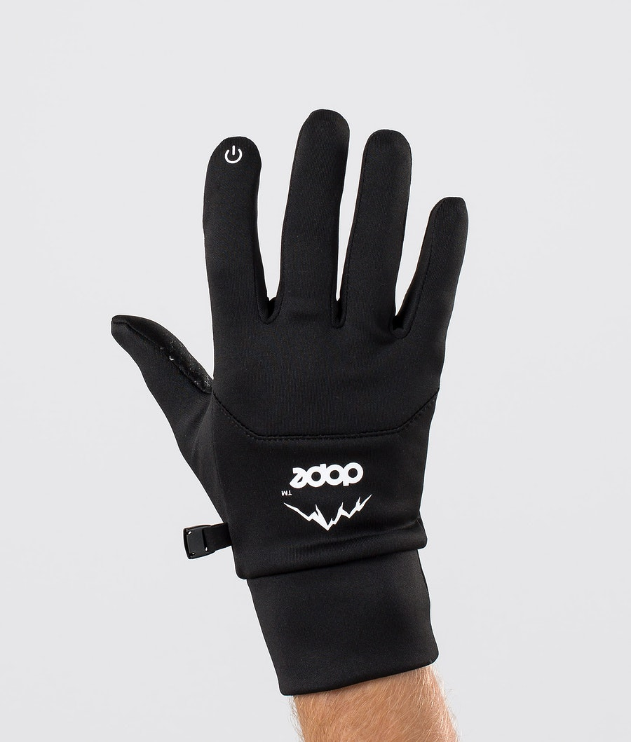 Power Ski Gloves Men Black