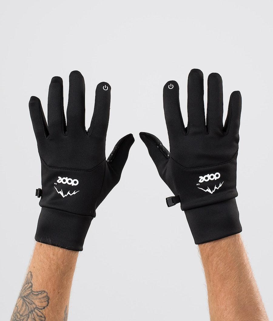 Dope Power Ski Gloves Black