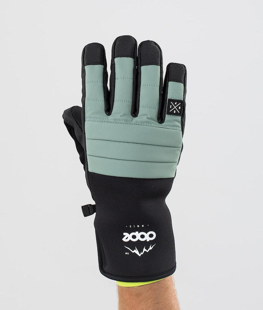 Dope Ace Glove Skidhandskar Faded Green