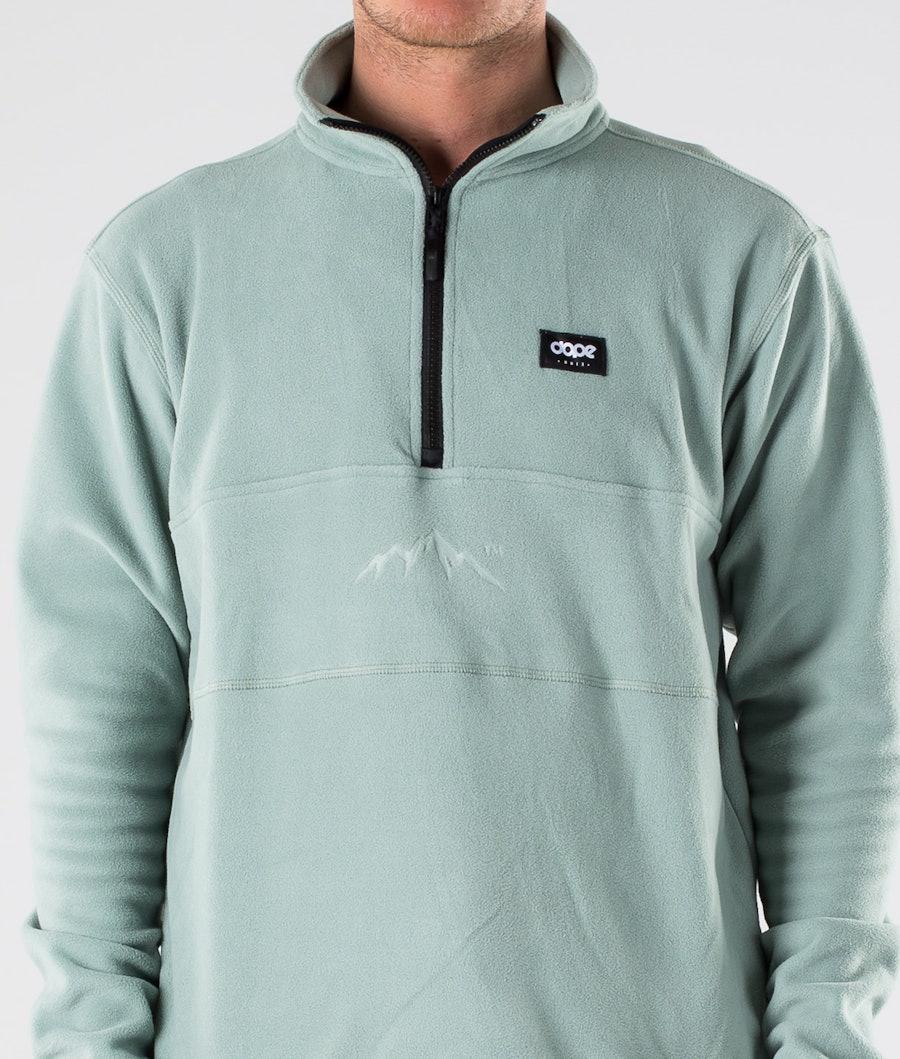 Dope Loyd Fleece Sweater Faded Green