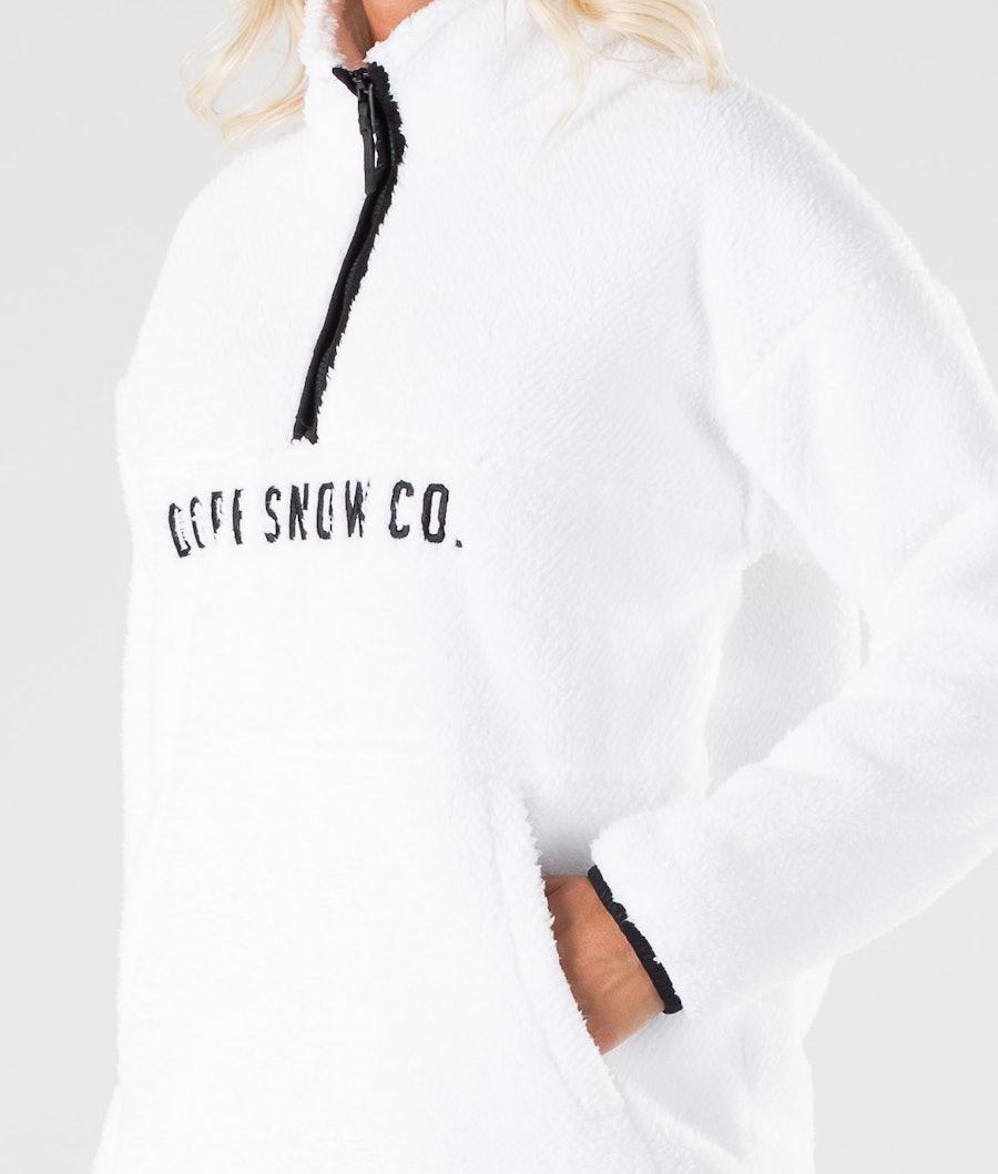 Dope Pile W Women's Fleece Sweater White