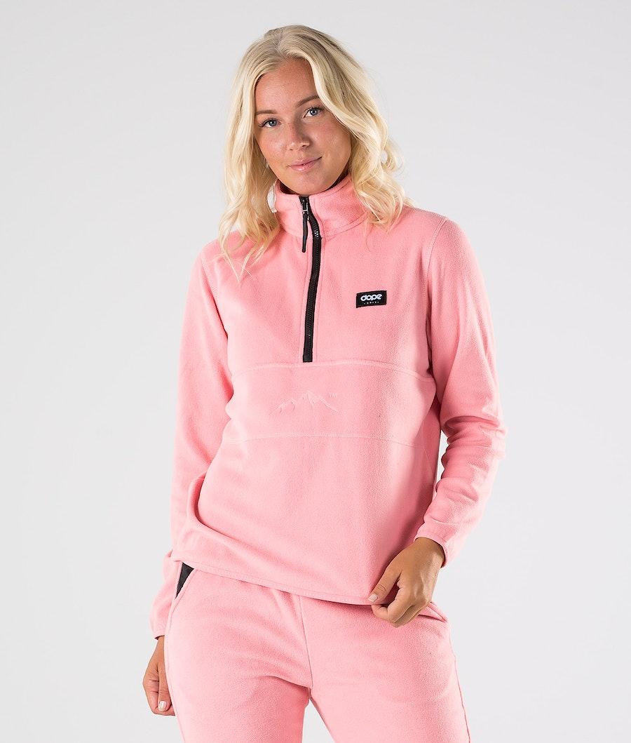 Dope Loyd W Fleecepullover Damen Pink