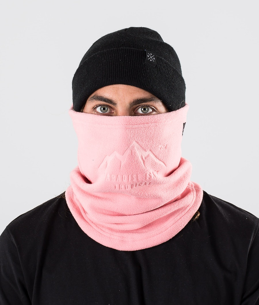 Cozy Tube Facemask Pink