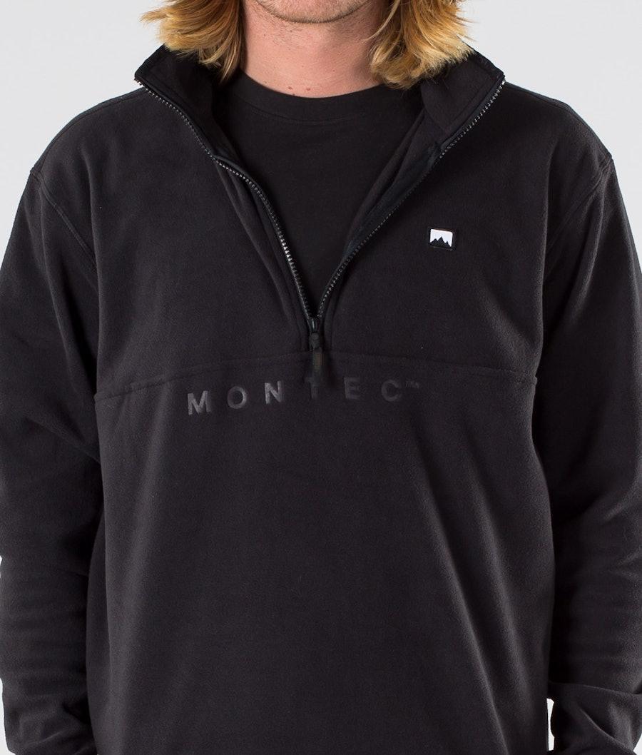Montec Echo Fleece Sweater Black