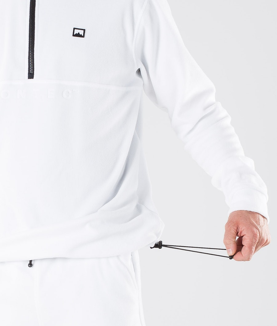 Montec Echo Fleece Sweater White