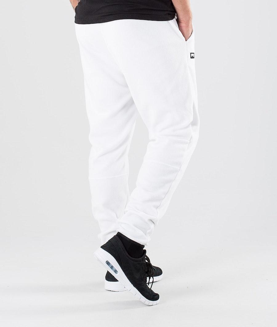 Montec Echo Fleece Pants White