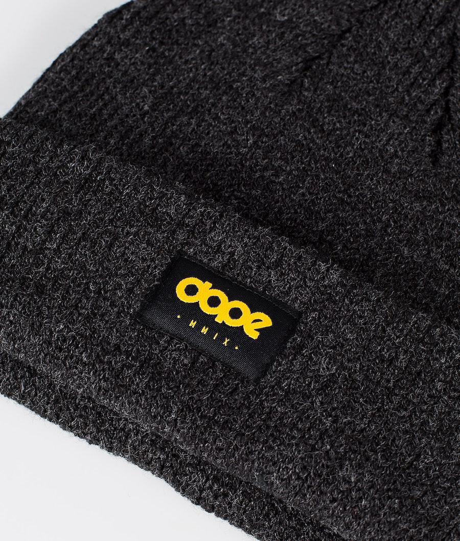 Dope OG Logo Beanie Black melange