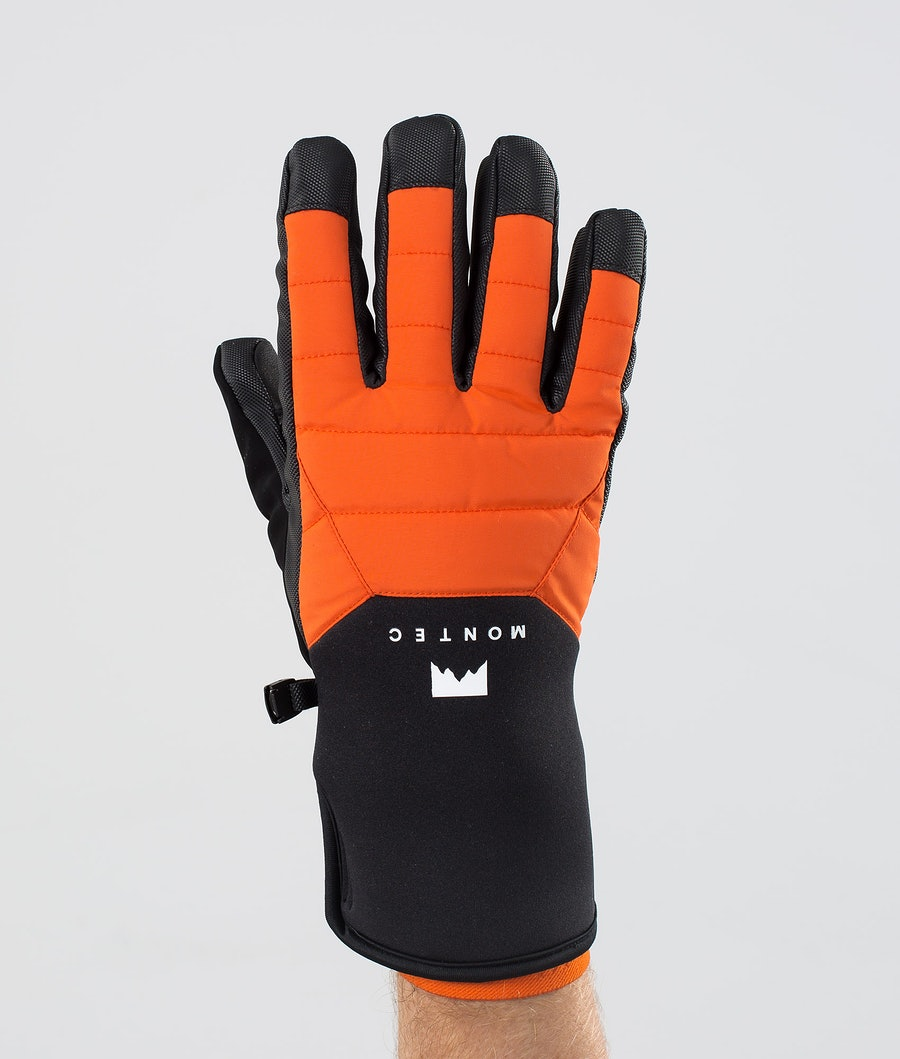 Kilo Glove Ski Gloves Men Orange