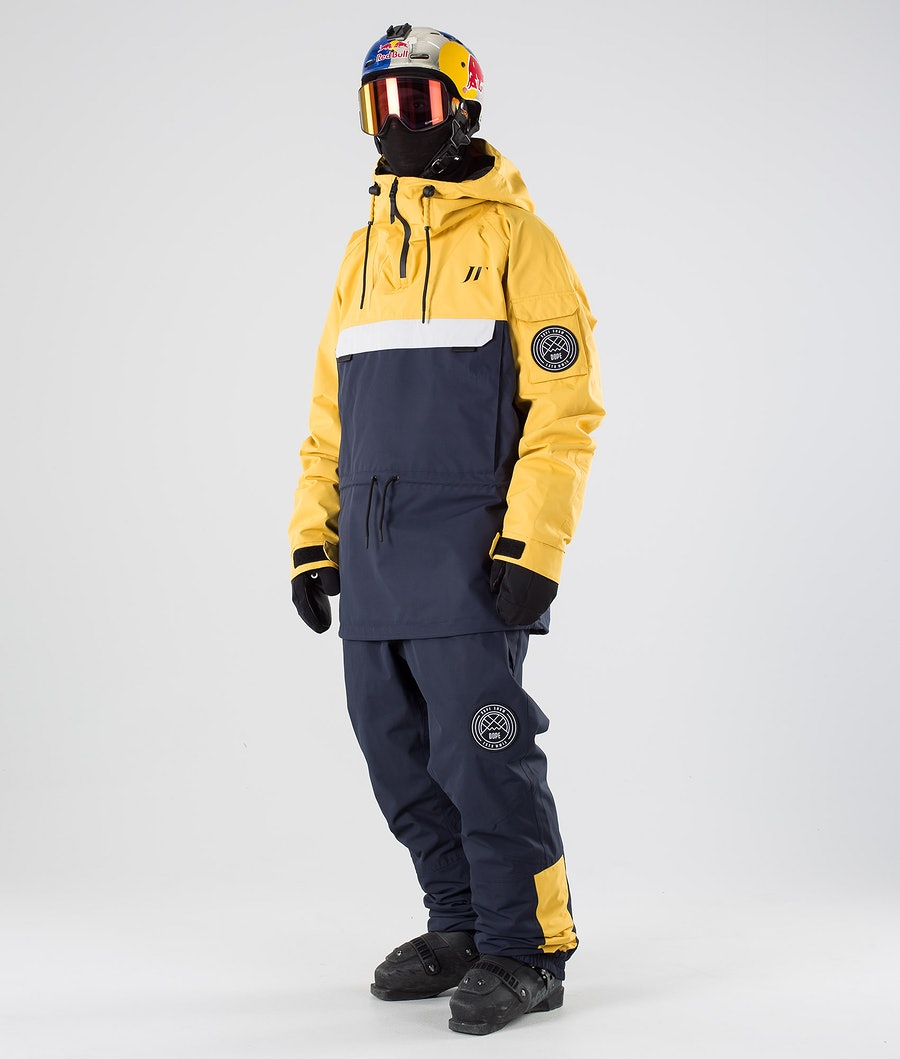 Dope JT Annok Skidjacka Yellow Grey Marine