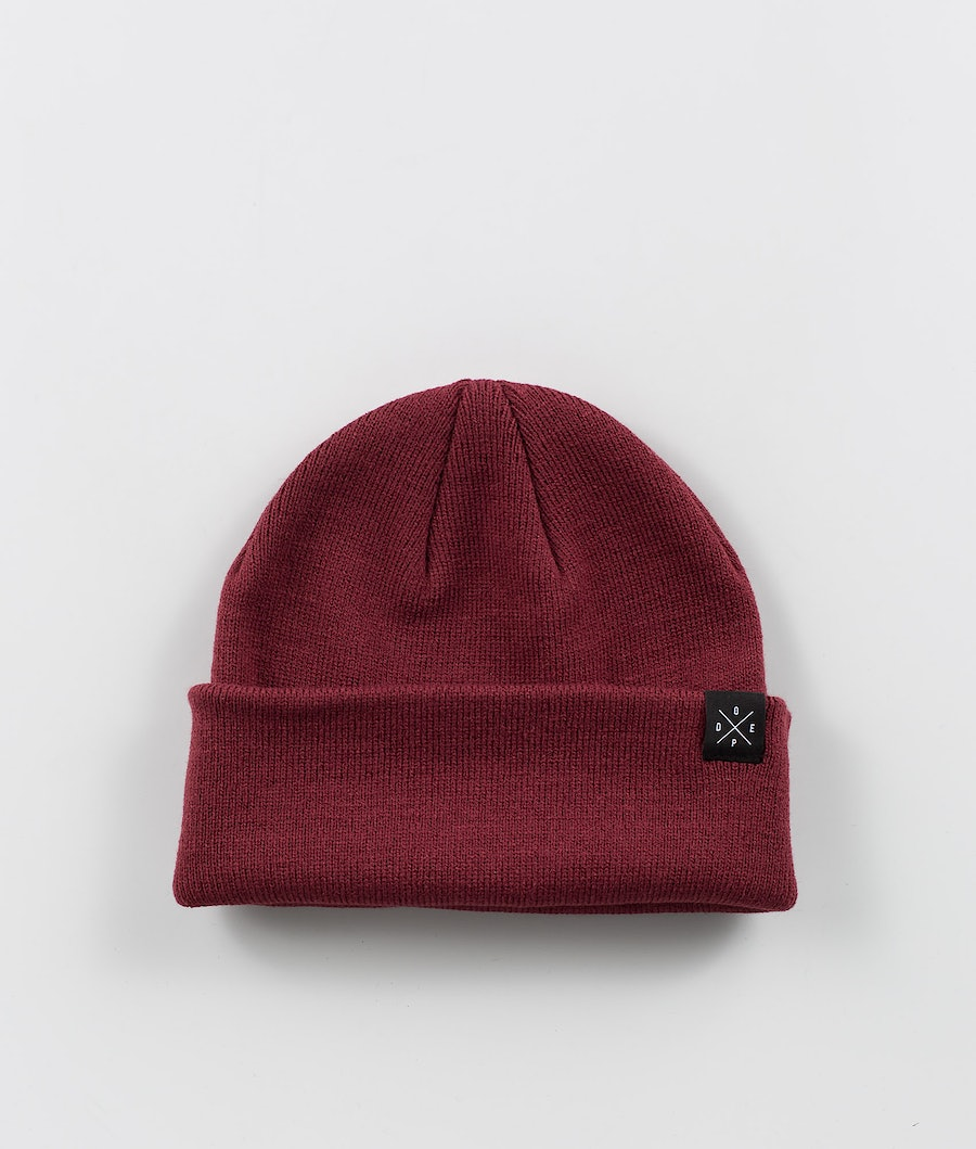 Solitude Beanie Men Burgundy