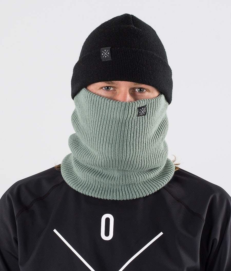 Dope 2X-UP Knitted Facemask Faded Green