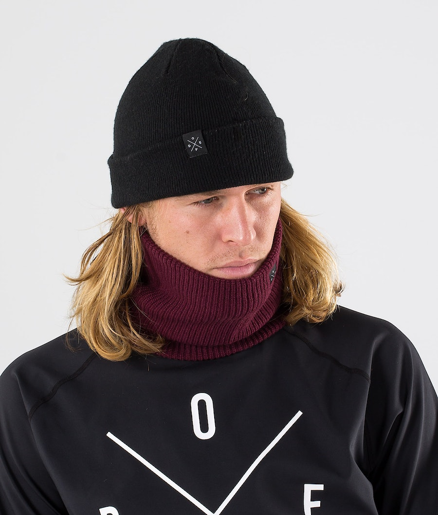 Dope 2X-UP Knitted Facemask Burgundy