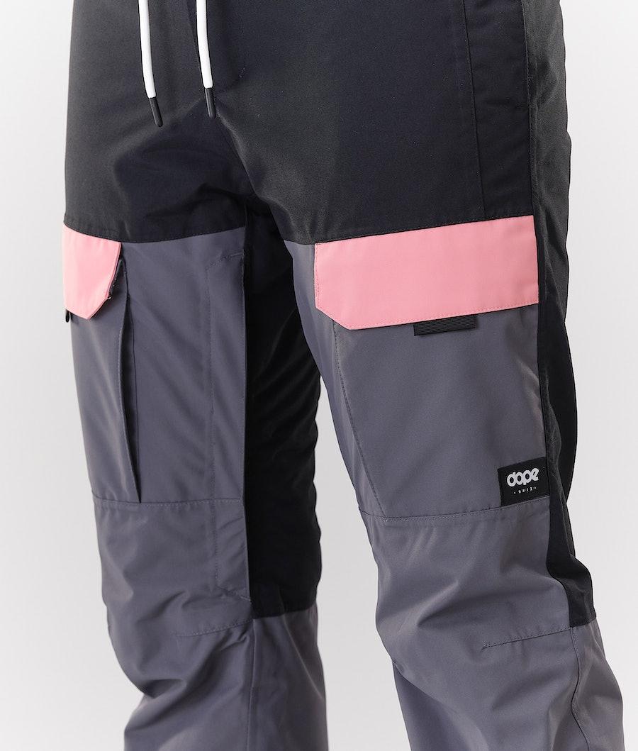 Dope Grace Snowboardbyxa Dam Black Pink Pearl