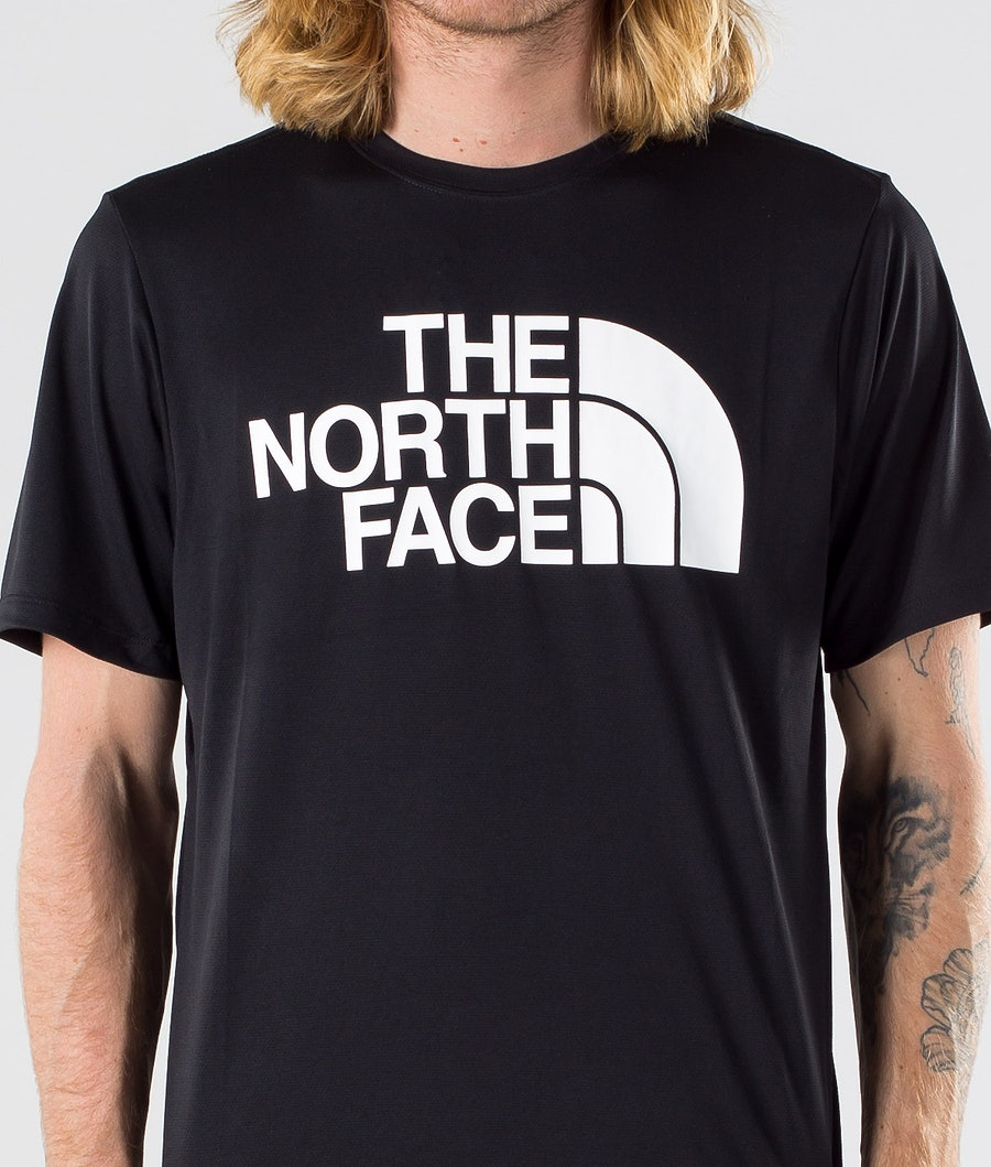 The North Face Flex2 Big Logo S/S T-shirt Tnf Black/Tnf White