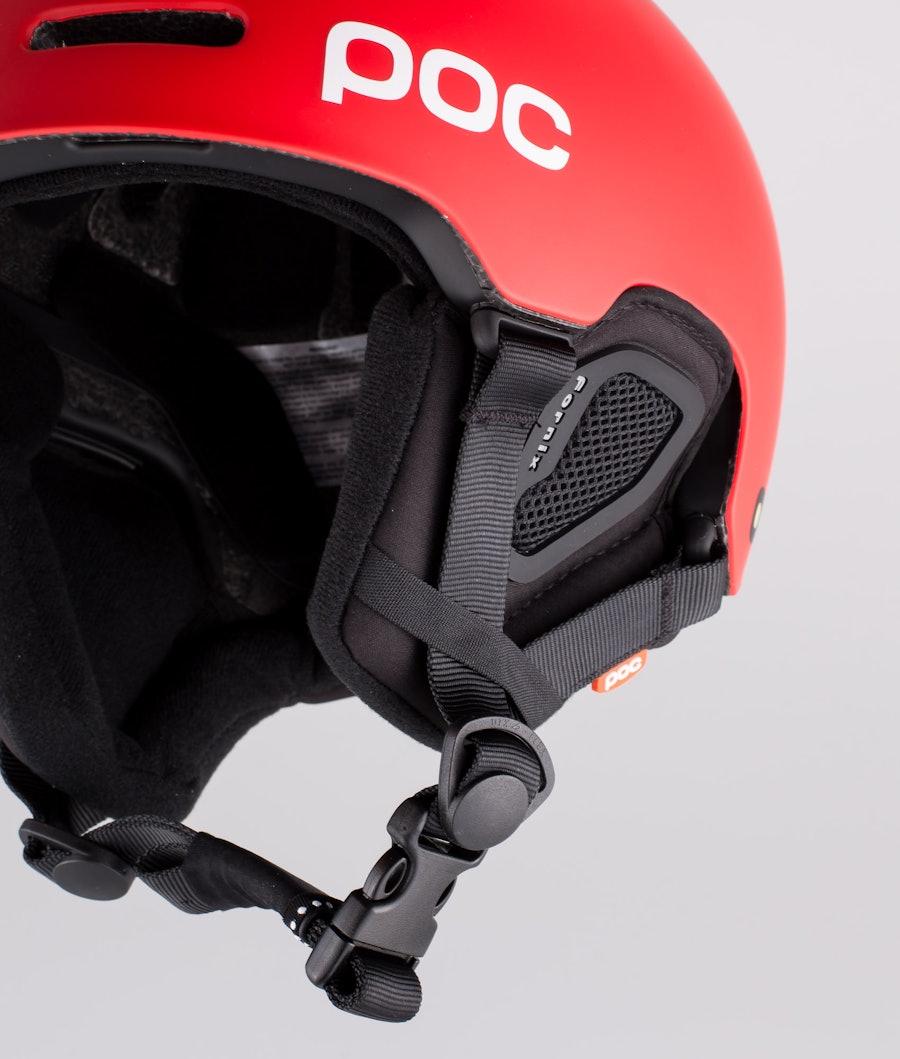 Poc Fornix Ski Helmet Prismane Red