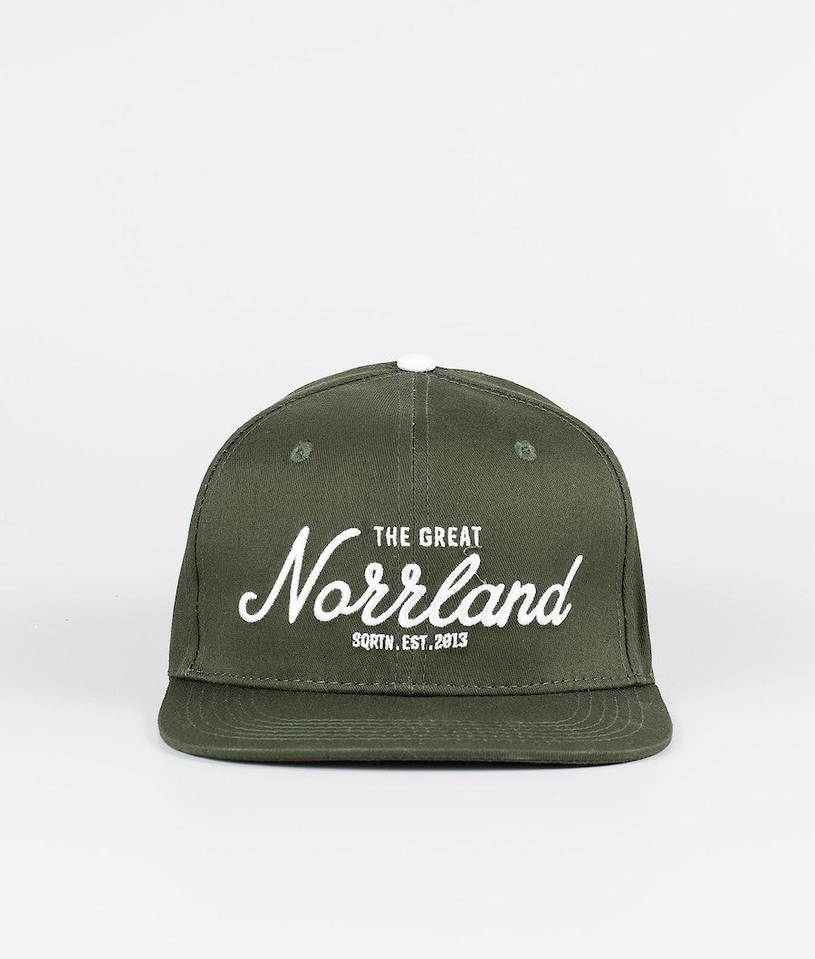 SQRTN Great Norrland Cap Dark Olive