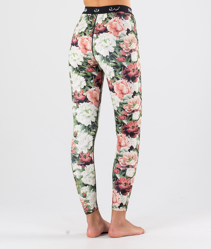 Eivy Icecold Tights Women's Base Layer Pant Autumn Bloom