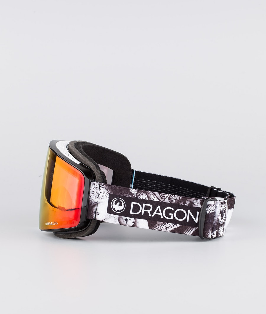 Dragon PXV Skidglasögon Faction 19 w/Lumalens Red Ion+Lumalens Rose