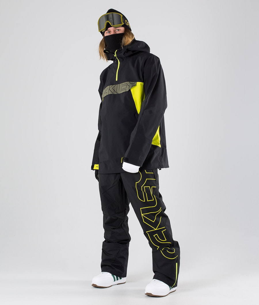 Oakley Black Forest Shell 3L 15K Snowboard Jacket Blackout
