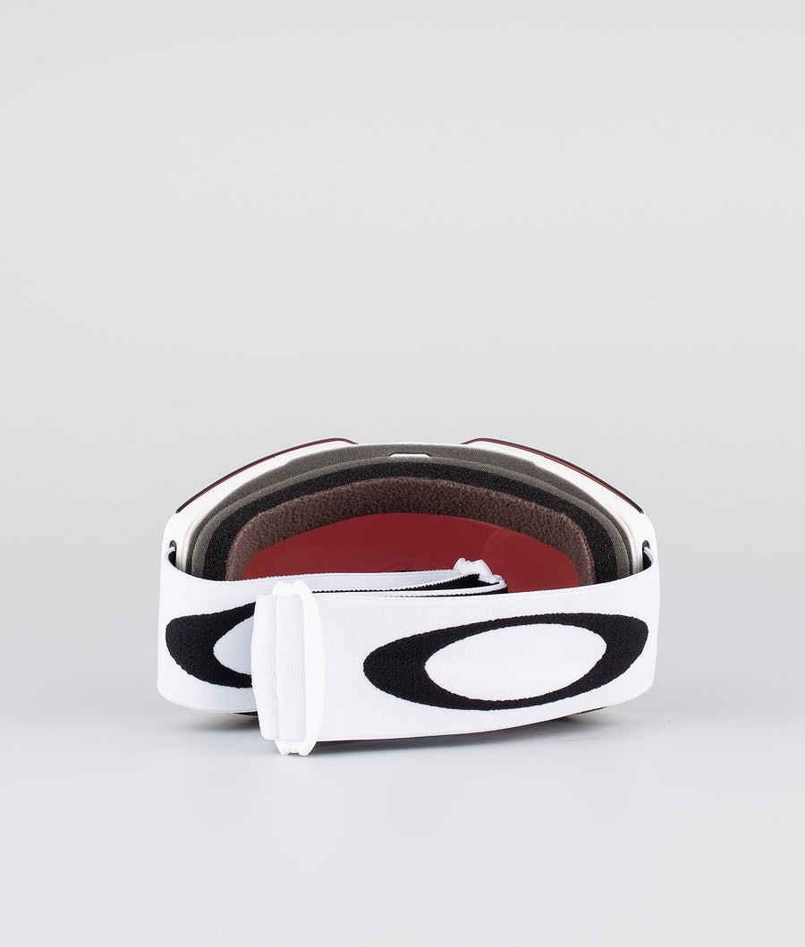Oakley Fall Line L Skidglasögon Matte White With Prizm Snow Jade Iridium Lens