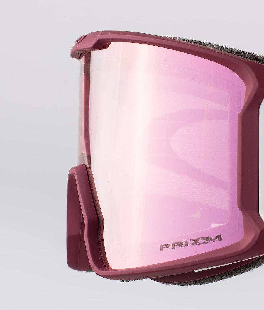 Oakley Line Miner Skibriller Red W/ Prizm Hi Pink