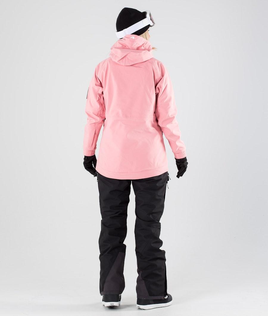 Montec Tempest W Women's Snowboard Jacket Pink