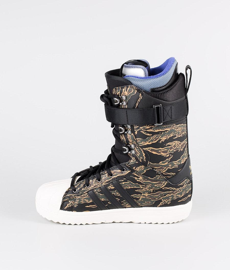 Adidas Snowboarding Superstar Adv Snowboard Boots Core Black/Night Cargo/Raw Desert