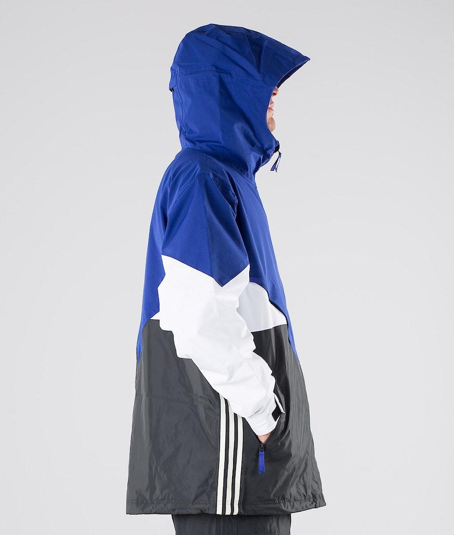 Adidas Snowboarding Premier Riding Giacca Snowboard Active Blue/Carbon/Cream White/White