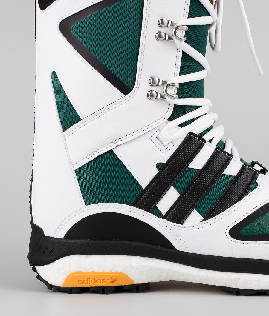 Adidas Snowboarding Tactical Lexicon Ad Snowboard Boots Footwear White/Core Black/Collegiate Green