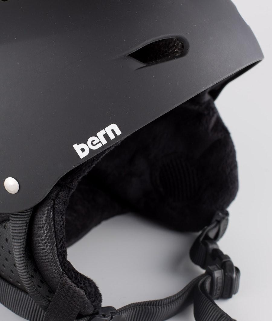 Bern Brighton Dope 2X-UP Eps Boa Casco Sci Matt Black