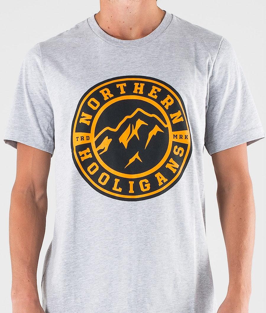 Northern Hooligans Uno T-shirt Heather Grey