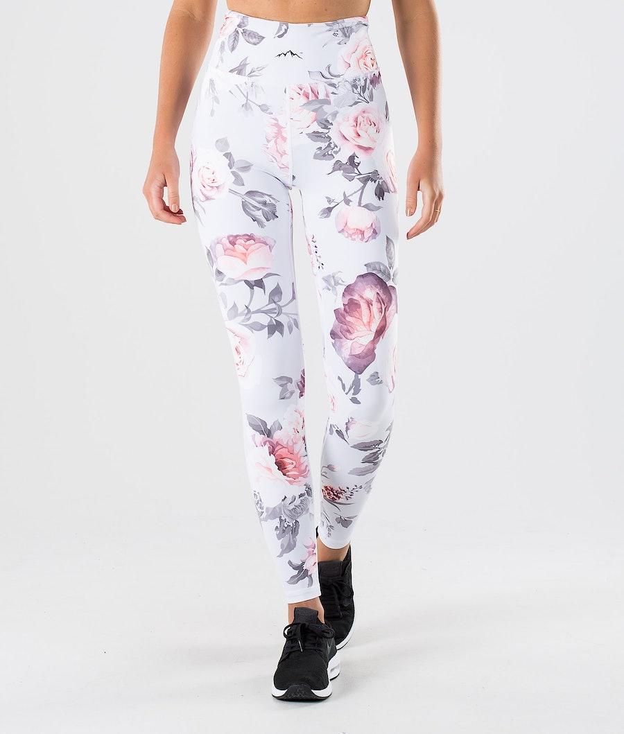 Dope Lofty Leggings Grey Flower