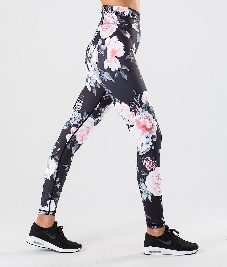 Dope Lofty Leggings Pink Flower