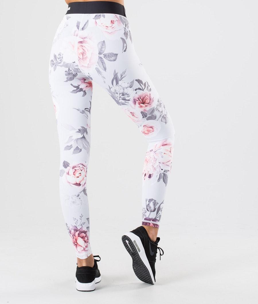 Dope Razor Leggings Damen Grey Flower