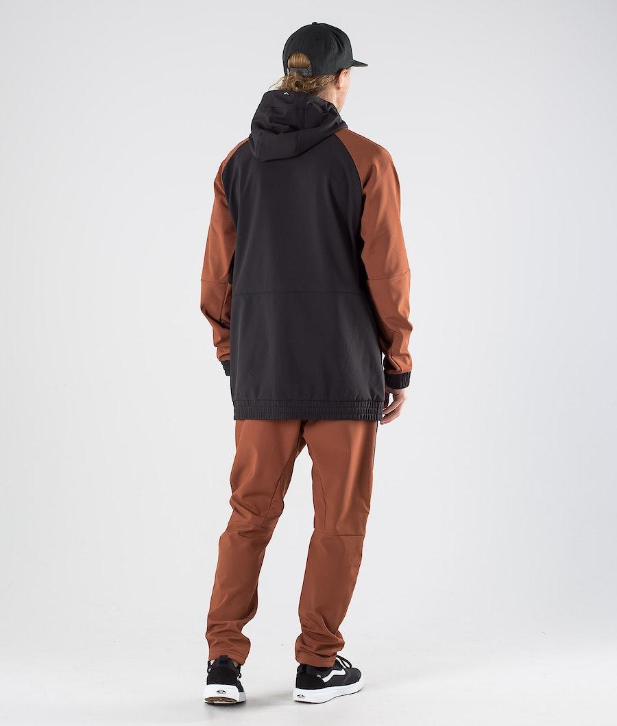 Dope Rambler Outdoor Jacka Adobe/Black